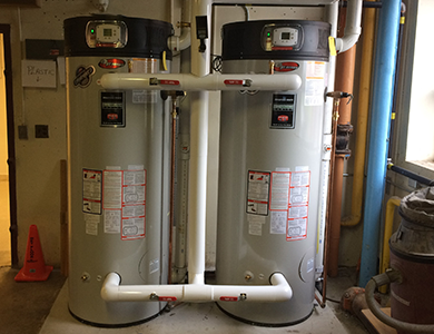 EF Water Heater Upgrade